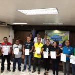 Proclamation of winners